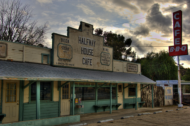 Halfway House Cafe Los Angeles